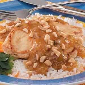 Orange-Honey Cashew Chicken