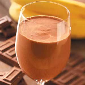 Chocolate Banana Smoothies