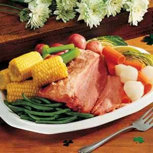 Corned Beef and Mixed Vegetables