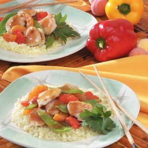 Apricot Turkey Stir-Fry