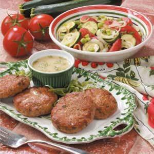 Tarragon Turkey Patties