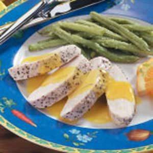Turkey with Orange Sauce