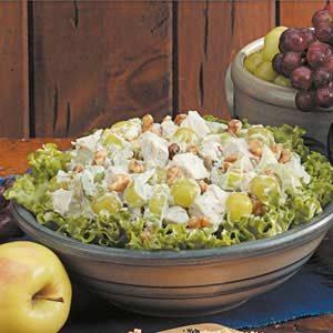 Fruited Tarragon Turkey Salad