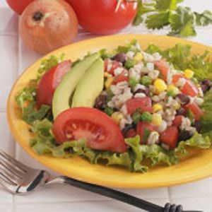 Southwestern Barley Salad