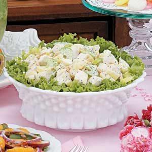 Easy Almond Chicken Salad