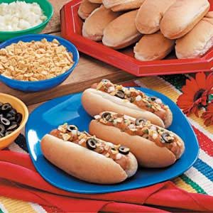 Fiesta Chili Dogs