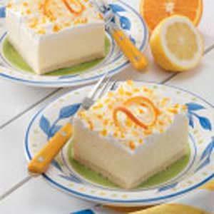 Lemon Icebox Dessert