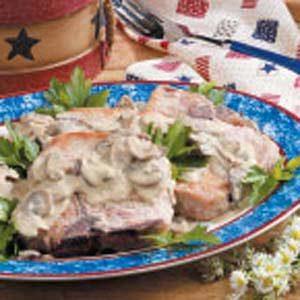 Pork Chops in Mustard Cream Sauce