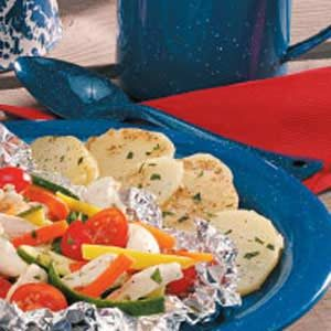 Campfire Foil Potatoes