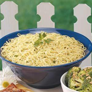 Garlic Parsley Spaghetti