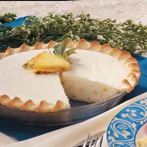 Pineapple Vanilla Cream Cheese Pie