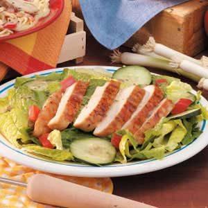 Hawaiian Grilled Chicken Salad