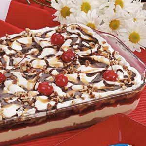 Banana Cheesecake Dessert