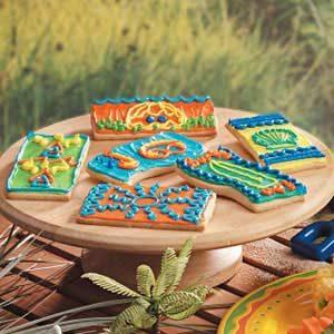 Beach Blanket Sugar Cookies