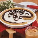 Layered Chocolate Peanut Butter Pie