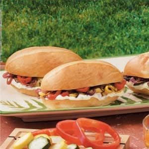 Roasted Veggie Sandwiches