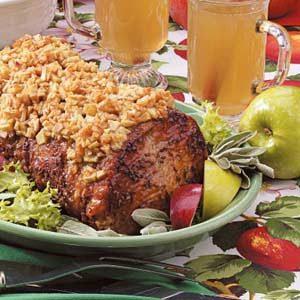 Apple-Topped Pork Loin