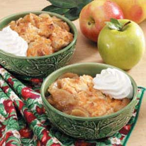 Country Apple Cobbler