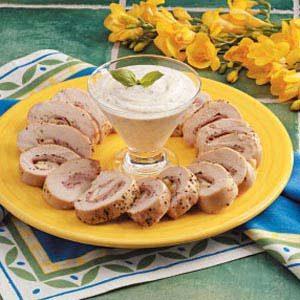 Stuffed Turkey Spirals