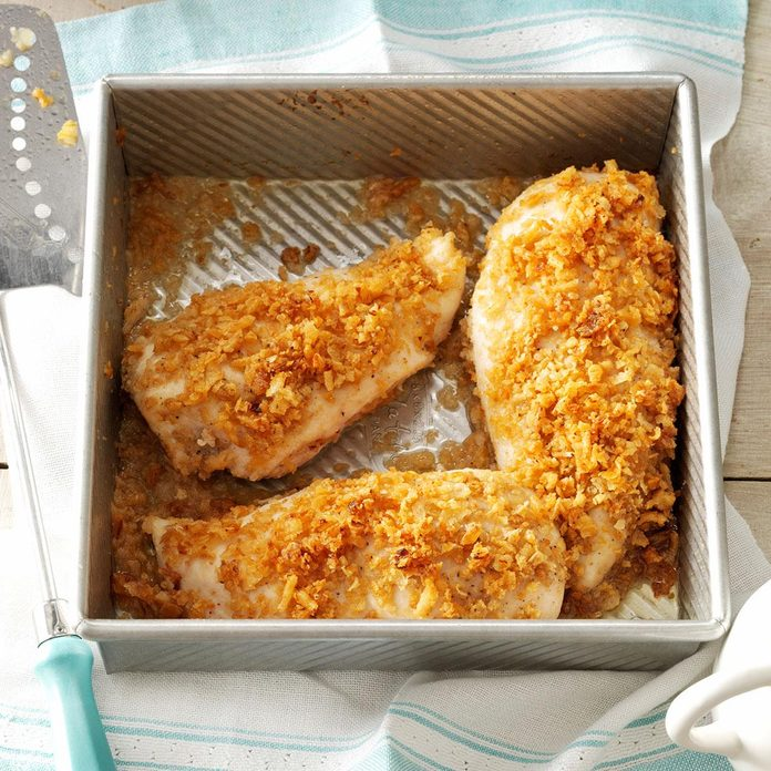 Monday: Crispy Onion Chicken