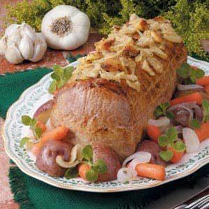 Roasted Garlic Pork Supper
