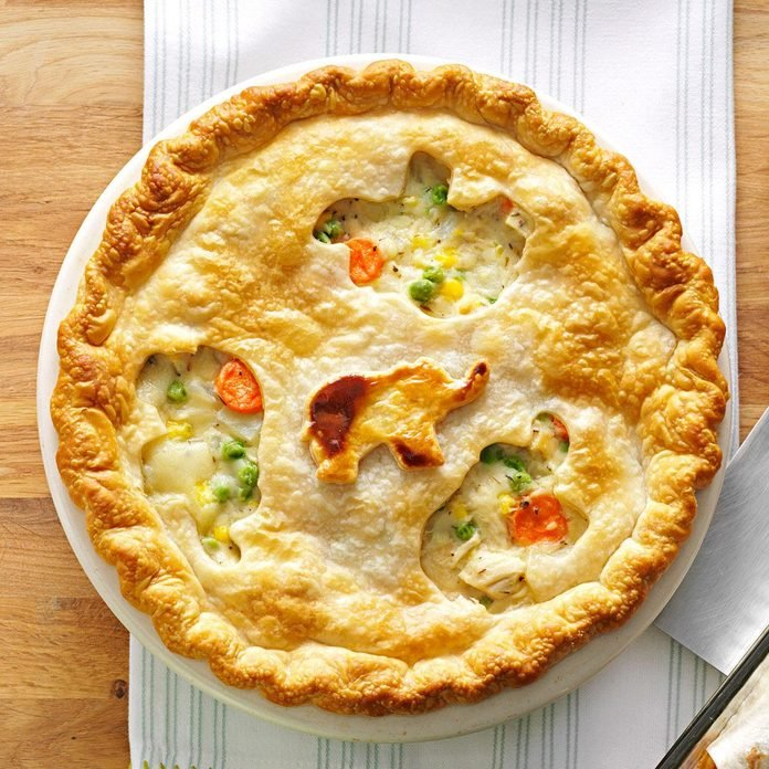 Inspired by: Golden Corral's Chicken Potpie
