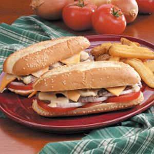 Reunion Steak Sandwiches
