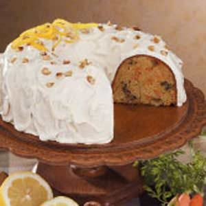 Walnut Carrot Bundt Cake