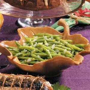 Green Beans with Basil