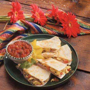 Omelet Quesadilla