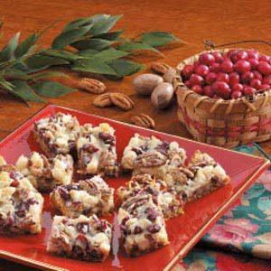 Coconut Cranberry Bars