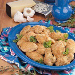 Garlic-Cheese Chicken Wings