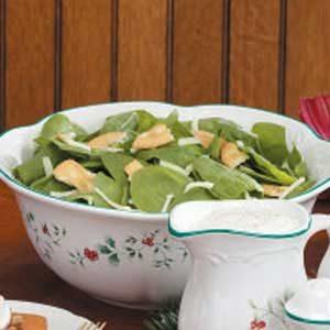 Speedy Spinach Salad