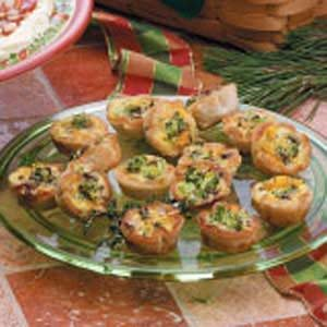Mushroom Broccoli Cups