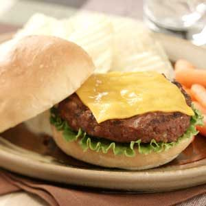 Deluxe Cheeseburgers