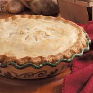 Double-Crust Potato Pie