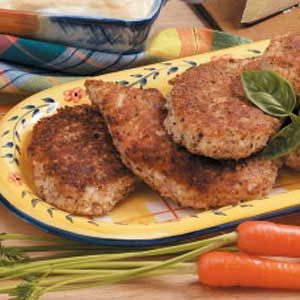 Pecan Parmesan Chicken