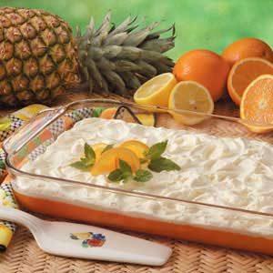Tart Orange Gelatin Salad