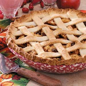 Applesauce Lattice Pie
