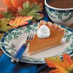 Baked Maple Pumpkin Pie