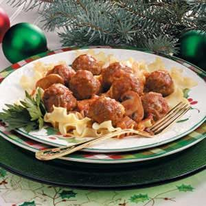 Meatballs with Vegetable Sauce