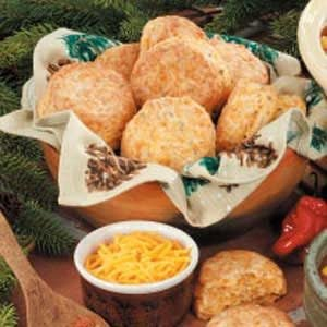 Chili Cheddar Biscuits