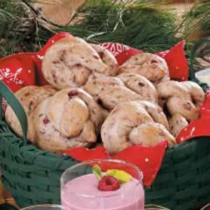 Cranberry Breakfast Pretzels