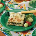 Spinach Cheese Phyllo Squares