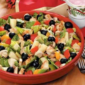 Chicken Pasta Salad with Oranges