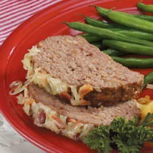 Bacon Swiss Meat Loaf