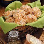 Ham Cheddar Biscuits