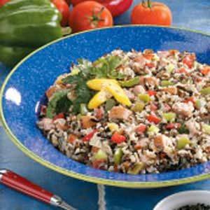Wild Rice Jambalaya