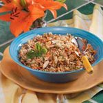 Three-Grain Pilaf