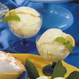 Frozen Lemon Yogurt